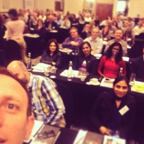 A selfie. Me and 200 friends in Jhb